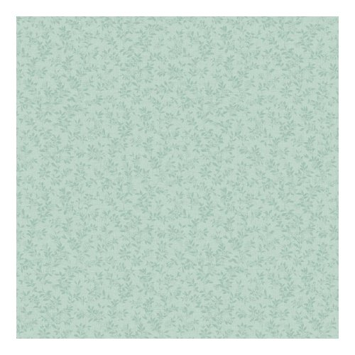 UPC 034878600413, York Wallcoverings KH7115 Kitchen and Bath Miniature Floral Vine Wallpaper, Pale Aqua/Robin's Egg Blue