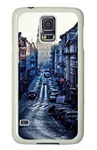 Unique Painting poland car cities Polycarbonate Hard Case Cover for Samsung S5/Samsung Galaxy S5