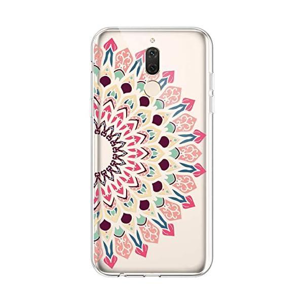 Robinsoni Cover per Samsung Galaxy A6S Cover Silicone Galaxy A6S Case Trasparente Custodia in Gomma Morbido TPU… 5 spesavip