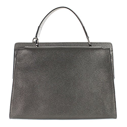 Gianni CHIARINI, Borsa a mano donna grigio grau metallic