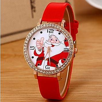 Joyas relojes ebay navidad (Color : Blanco , Género : Para Mujer) : Amazon.es: Deportes y aire libre