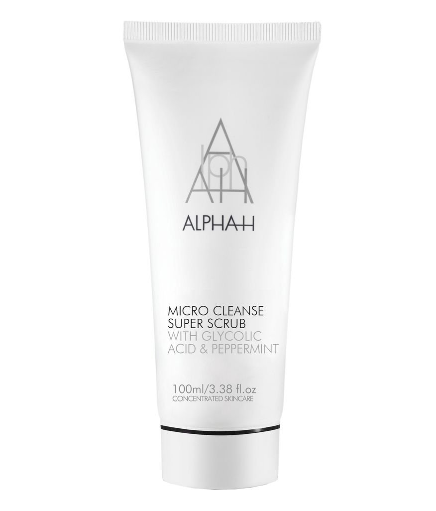 Alpha-H Micro Cleanse Super Scrub with Glycolic Acid and Peppermint, 100 ml ALHCOSC73011499
