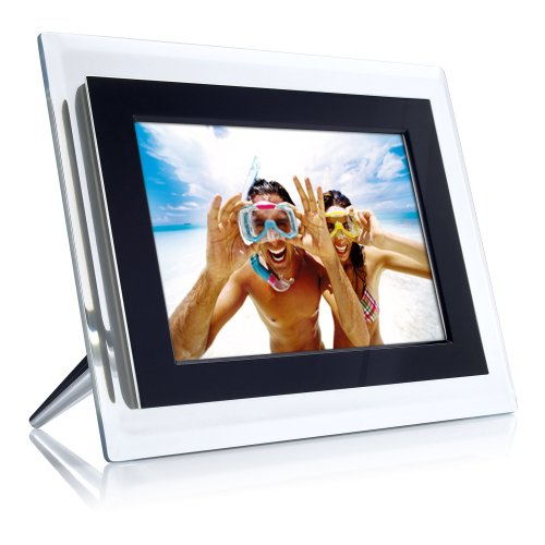 Philips 6.5-Inch Digital Photo Frame (Clear & Black) by Philips