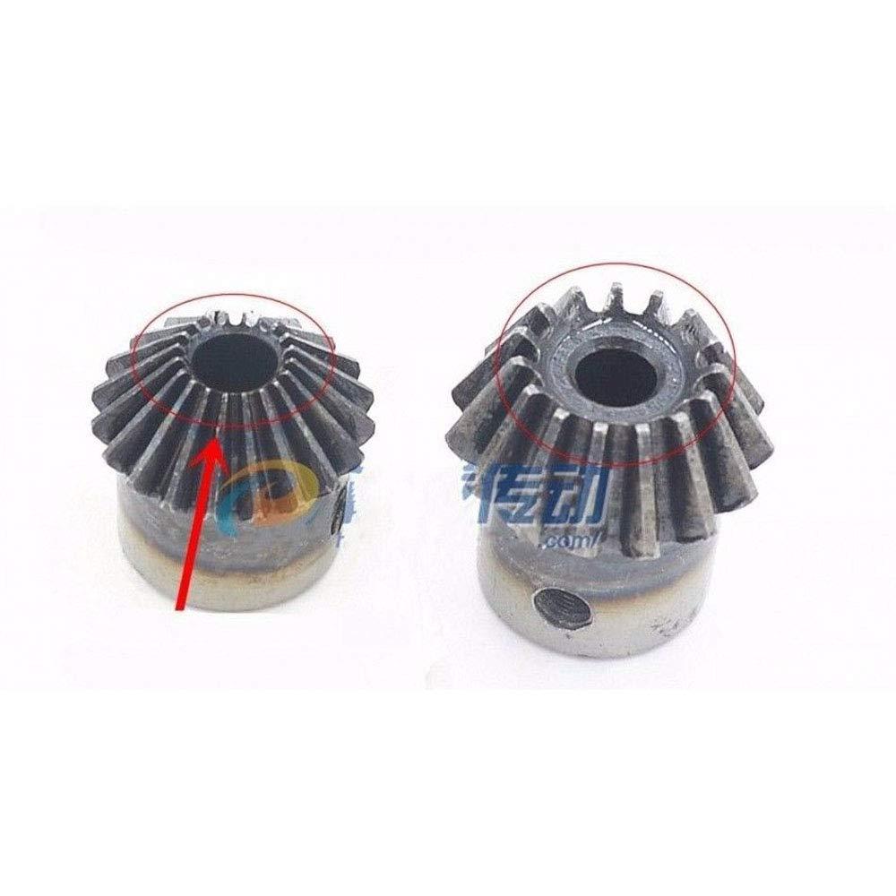 Motor Bevel Gear 1.5 Mod 25T 90/° Pairing Bore 15mm Metal Bevel Gear Bore:15mm