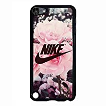 Appealing Floral Background Design Nike Phone Case Cover for Ipod Touch 5th Generation Just Do It Luxury Pattern