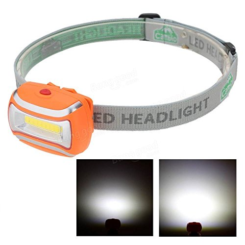 PhilMat Iluminación al aire libre LED faro acampar yendo de excursión faro lámpara ligera de pesca