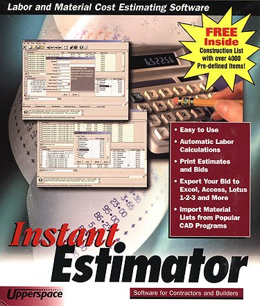 Imsi Software Instant Estimator Labor And Material Cost Estimating