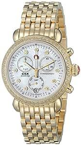 MICHELE Women's MWW03M000141 CSX-36 Analog Display Swiss Quartz Gold Watch