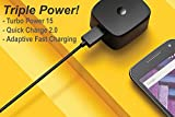 Professional CAT B15Q TurboPower 15W Wall Charger and 3.3ft Micro USB Charging Cable!