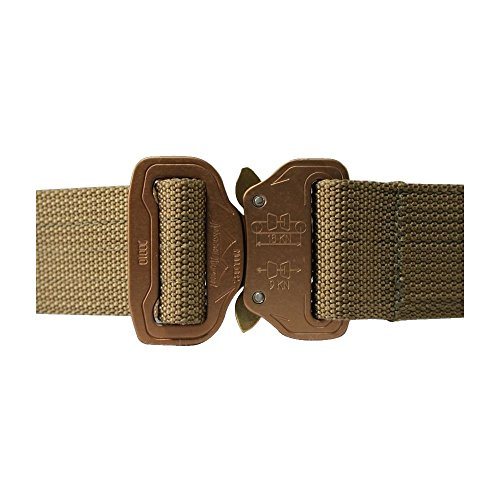 Elite CO Shooters Belt with Cobra Buckle attachment methods velcro ratchet