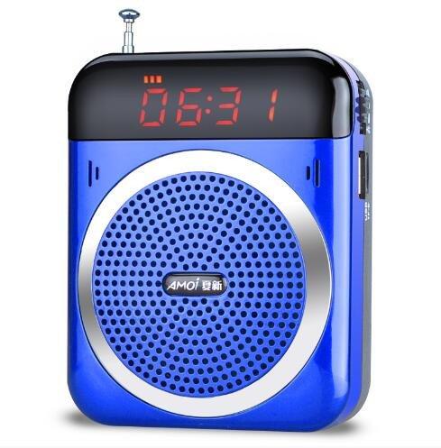 La antigua radio reproductor de música MP3 Walkman portátil square dance pequeño negro de audio: Amazon.es: Hogar
