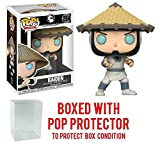 Funko Pop! Games: Mortal Kombat - Raiden Vinyl Figure (Bundled with Pop BOX PROTECTOR CASE)