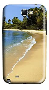 Lagoon Beach Polycarbonate Case Cover for Samsung Galaxy Note 2 / Note II / N7100