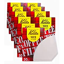 White 10 box set # 13001 [2-4] people for 50 pieces Kalita 102 filter paper coffee filter (japan import)