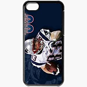 Personalized iPhone 5C Cell phone Case/Cover Skin 769 new england patriots Black