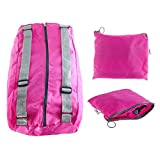 Cheap Backpack Rose red multipurpose Foldable Fashion for Women outdoor travel sport