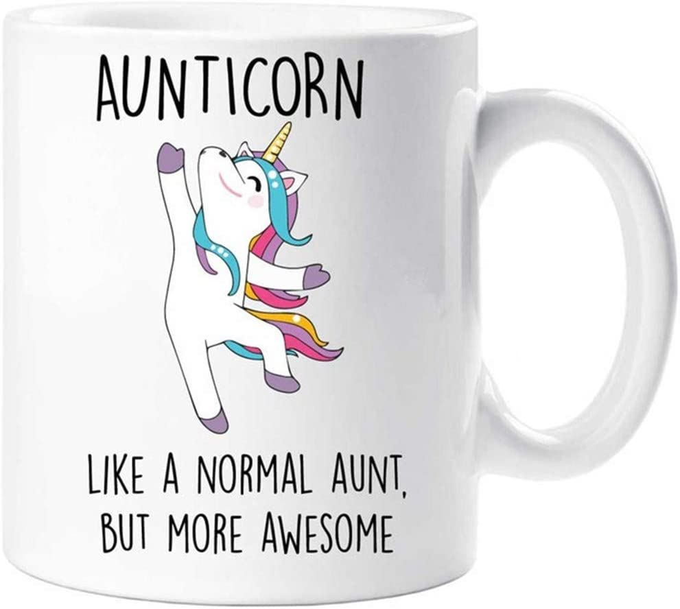 Just Like A Normal Aunt But Much Cooler ugly Gift Top Details about  /Aunticorn Unicorn Hoodie