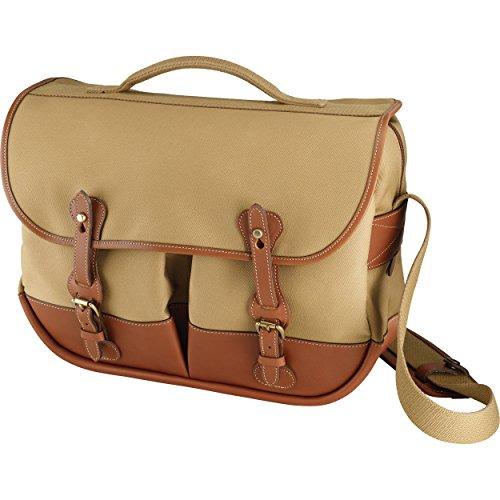 Billingham Eventer Camera Bag - Khaki Canvas/Tan Leather BI 504533-70 by Billingham