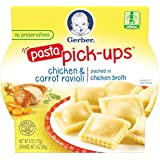 Gerber Graduates Pasta Pick-Ups Ravioli, Chicken and...