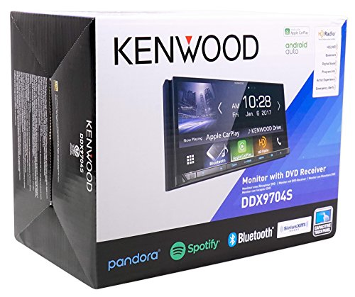 Kenwood DDX9704S In-Dash DVD Receiver with Apple CarPlay & Android Auto by Kenwood (Image #8)