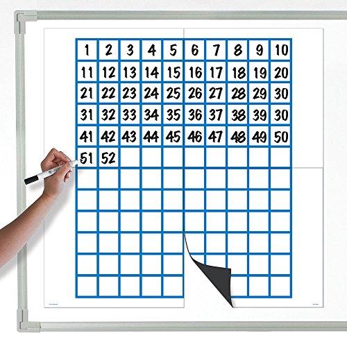 EAI Education Jumbo Magnetic Data Analysis Grid & 120 Board