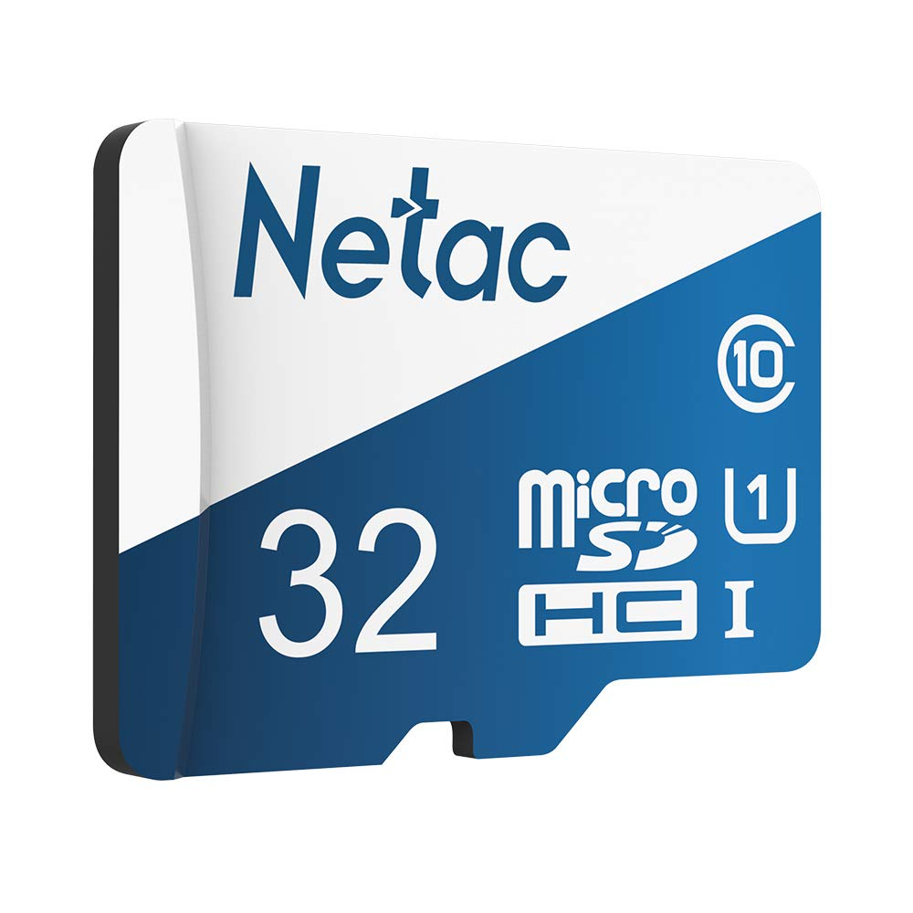 Festnight Netac P500 versión de Ultramar Clase 10 Tarjeta Micro SDXC TF Tarjeta de Memoria Flash Almacenamiento de Datos de 80 MB/s 32 GB