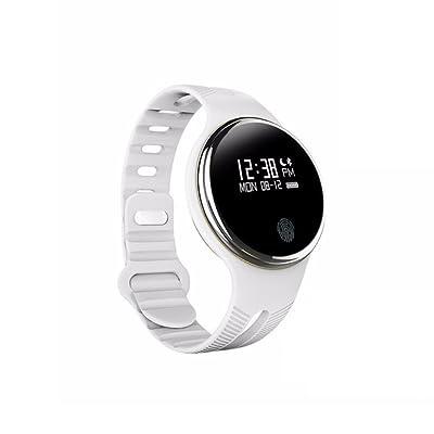 Fitness Tracker, Bluetooth 4.0 Smart Bracelet Waterproof Sport Fitness Tracker Smart Band Podomètre Smart Wristband pour Android IOS