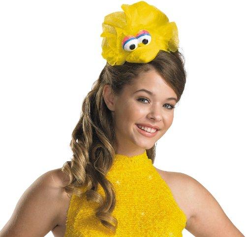 Disguise Women's Sesame Street Big Bird Adult Costume Headband, Yellow, One Size (Cookie Monster Headband)