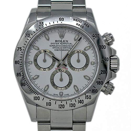 Rolex Daytona Swiss-Automatic Male Watch 116520 (Certified Pre-Owned)