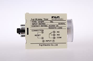 Set STPF V AC Power Off Delay Timer Time Relay Seconds - Power off relay
