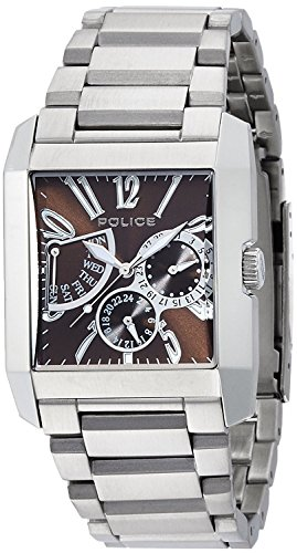 POLICE watch Kings Avenue Retrograde 5 ATM water resistant 13789MS-12M Men's [regular imported goods]
