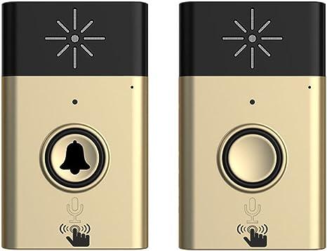 New Wireless Doorbell with Voice Intercom 300M Distance