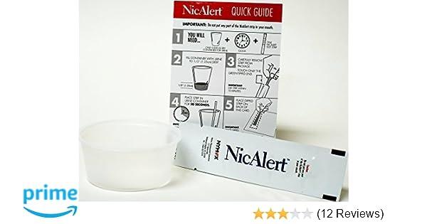 NicAlert - Instant Urine Nicotine Cotinine Tobacco Smoking Test + Second  Hand Smoke (1)(Multiple Quantities)
