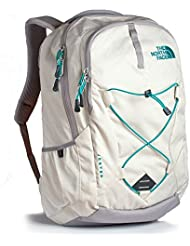 The North Face Womens Jester Backpack Grey/Green
