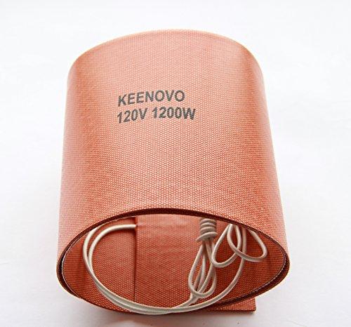 6-x-36-1200w120v-keenovo-silicone-heater-blanket-for-musical-instrument-bending-molding-custom-desig