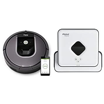 iRobot Roomba 960 - Robot Aspirador Óptimo Mascotas con Wifi y Programable por App + iRobot