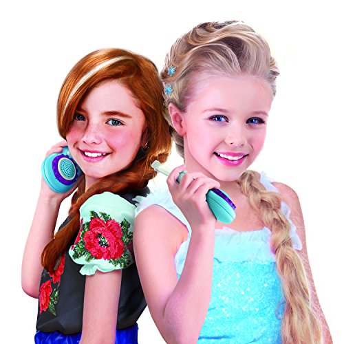 Disney Frozen Chill 'n' Chat Anna & Elsa Character FRS Walkie Talkies Easy To Use & Static Free