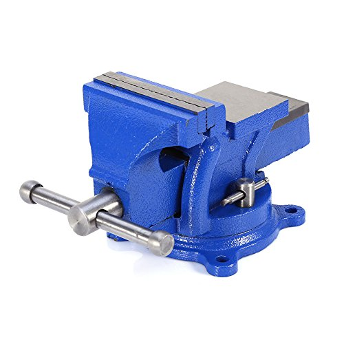 4'' 100mm Heavy Duty Bench Vice Anvil Swivel Locking Base Table Top Clamp Base for home handyman by Heaven Tvcz (Image #6)