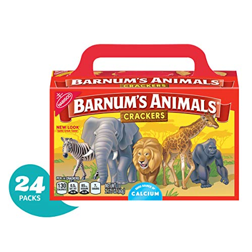 Barnum's Animal Crackers, 2.125-Ounce Boxes (Pack of 24)(Packaging may vary) ()