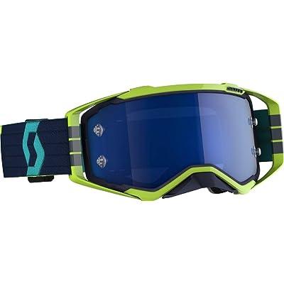 Scott Unisex-Adult Goggle (Blu/Yel, one_size) - Prospect MX: Automotive