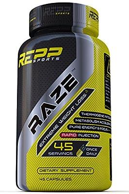 Repp Sports Raze Extreme Fat Burner, 45 Count