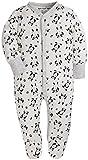 Baby 3-Pack Footed Pajamas Boys Girls Long Sleeve