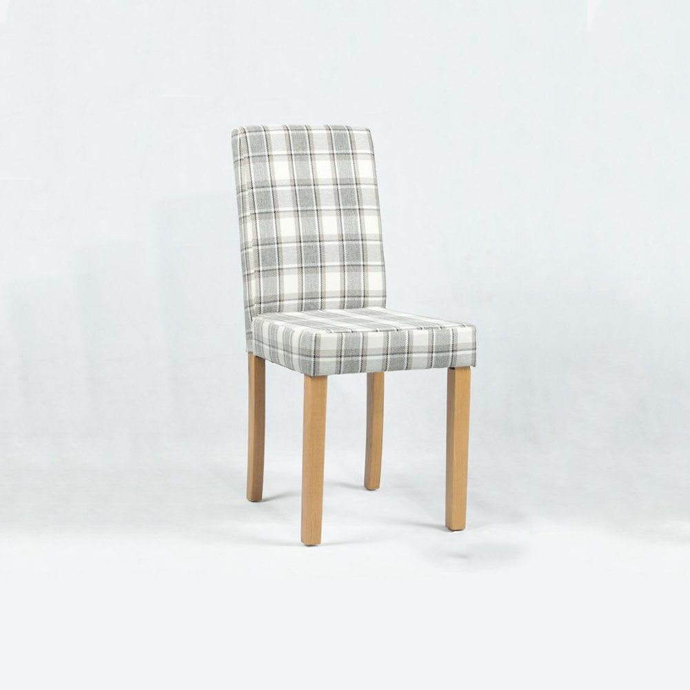 DALL ダイニングチェア JY 131クリエイティブ格子縞 組み立てることができます リムーバブル ウォッシュ 背もたれレジャー木製椅子 (色 : 2) B07D9ZCVTS 2 2