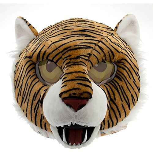 Large Head Halloween Costume (Maskimals Tiger Head Mask Large Halloween Costume)