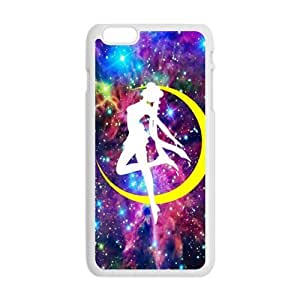 Yellow moon dancing girl Cell Phone Case for iPhone plus 6