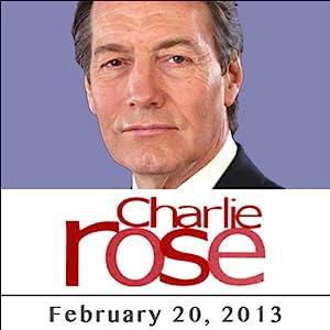 Charlie Rose: Madeleine Albright and Eric Goode, February 20, 2013 Radio/TV Program