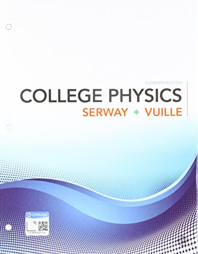 Bundle: College Physics, Loose-Leaf Version, 11th + WebAssign Printed Access Card for Serway/Vuille's College Physics, 11th Edition, Single-Term