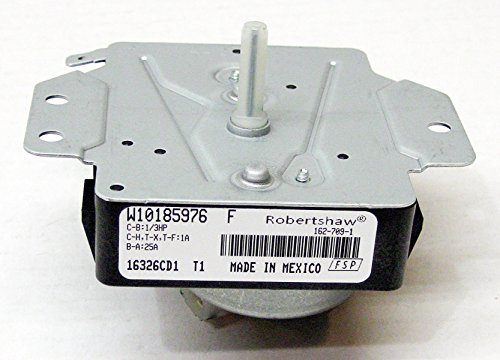 Price comparison product image Major Appliances W10185976 Whirlpool Kenmore Dryer Timer Control PS2348529 AP4373097
