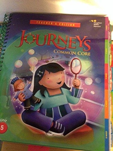 Journeys: Teacher's Edition Volume 5 Grade 1 2014