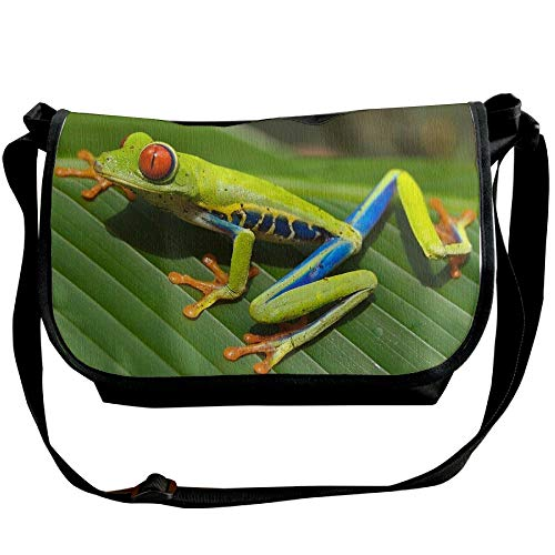 Bag Bags Arrow Mens Fashion Black One Frog Shoulder Handbag Casual Crossbody Dendrobatidae Poison wBqHUx88X